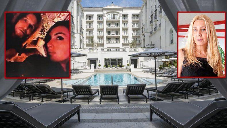 Después de blanquear la separación, Claudio Paul Caniggia y Sofia Bonelli pasan unos días en un lujoso hotel