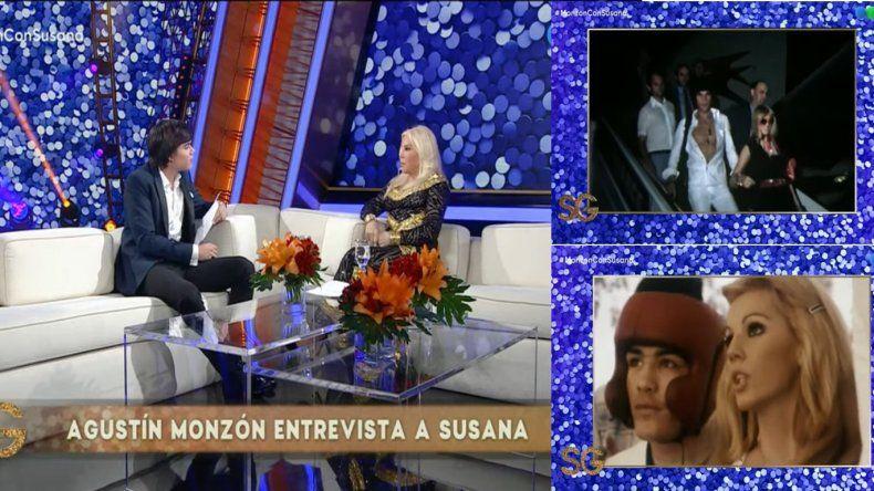 Susana Giménez fue entrevistada por el nieto de Carlos Monzón, que la sorprendió con una íntima pregunta: ¿Te hubiese gustado tener hijos con él?