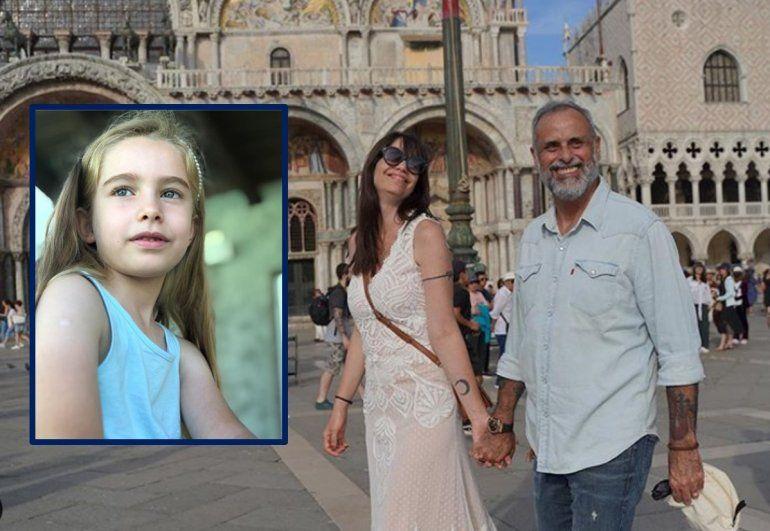 El emotivo mensaje de Jorge Rial a Violeta, la hija de su mujer, Romina Pereiro