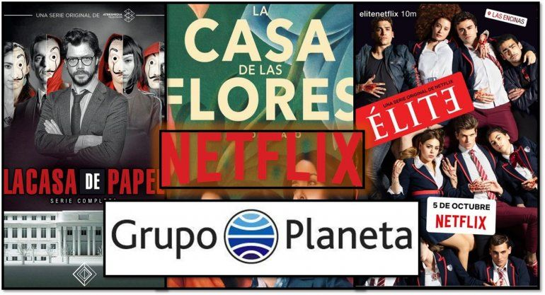 Grupo Planeta y Netflix cerraron un acuerdo global: publicarán sus mejores series en libros