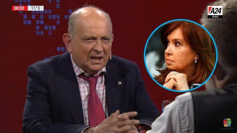 Sorprendente confesión de Chiche Gelblung: Cristina Fernández está buena, pero no la invitaría a salir