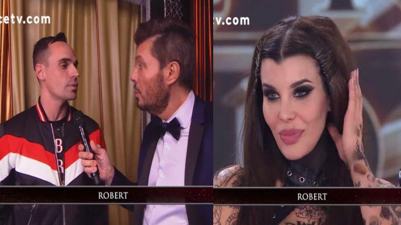 Apareció Robert, el novio de Charlotte Caniggia, y sorprendió con el romance: Le digo te amo
