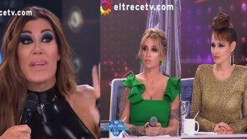 Flor de la V estalló de furia contra Flor Peña y Pampita y amenaza con renunciar al Bailando: Nunca es suficiente