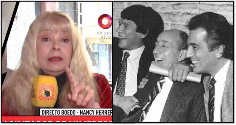 Nancy Herrera se metió en la polémica de la serie de Monzón: El Facha Martel era el dealer de Olmedo y Carlos