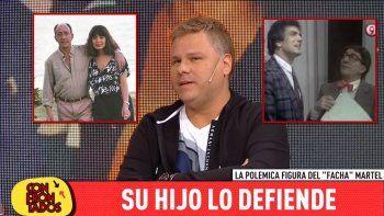 El hijo de Facha Martel desmintió a la viuda del capocómico y la acusó: Nancy Herrera engañó a Olmedo con varios de sus amigos