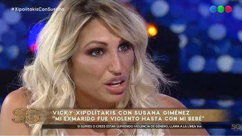Vicky Xipolitakis relató el maltrato y los golpes que sufrió de parte de su marido: Me pegaba a mano abierta