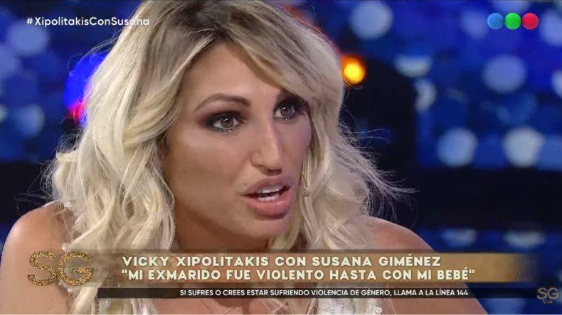 Vicky Xipolitakis relató el maltrato y los golpes que sufrió de parte de su marido: Me pegaba a mano abierta, me dejaba colorada