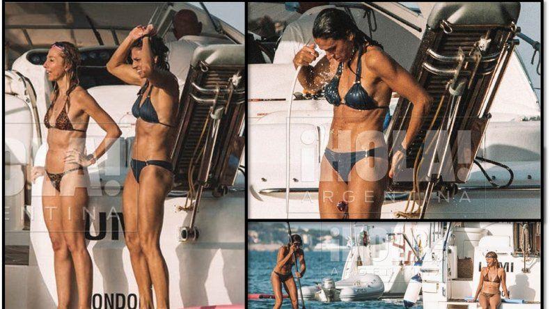 Está entera: El lomazo de Gabriela Sabatini, a los 49 años, en sus vacaciones por las Islas Baleares