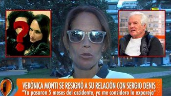 Verónica Monti dejó atrás a Sergio Denis y se buscó un novio igual a otro cantante