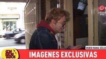 Videos: Guido  y Silvia Süller desconsolados por la muerte de su madre