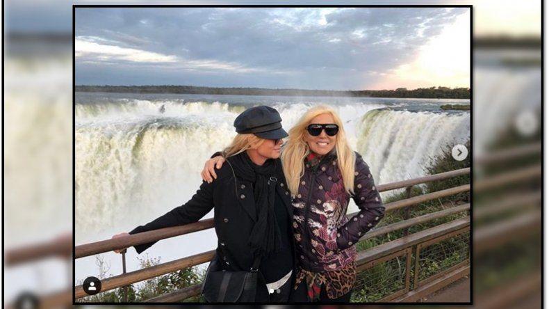El extraño pedido hot que hizo Susana Giménez en su viaje a Cataratas del Iguazú