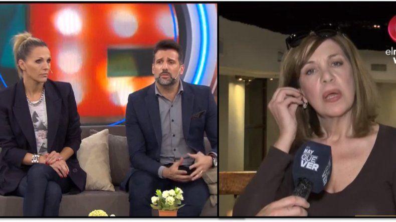 Anabela Ascar se enfureció con Listorti y Denise Dumas cuando le mencionaron su romance con Rodríguez Saá: Son agresivos, me quieren desacreditar