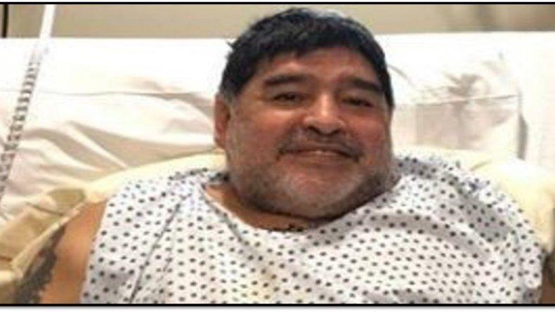 Después de 13 días de internación le dieron el alta a Diego Maradona