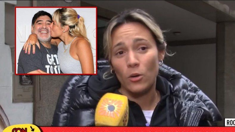 Rocío Oliva descartó una reconciliación con Maradona: Para mí lo primero ahora es...