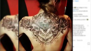 El impactante tatoo que se hizo una famosa actriz: ¿Te atreverías?