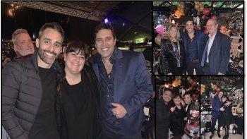 Matías Ale cumplió años y lo festejó a lo grande junto a familia y amigos