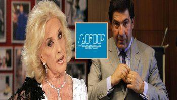 ricardo echegaray, ex titular de la afip, fue contra legrand: mirtha tambien tiene deudas