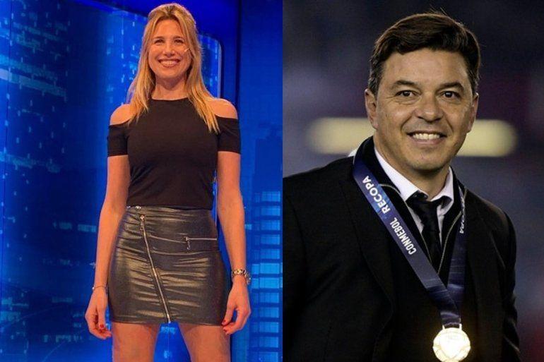 Explosivo: A pocos meses de ser padre, Marcelo Gallardo tendría un romance con la periodista Alina Moine