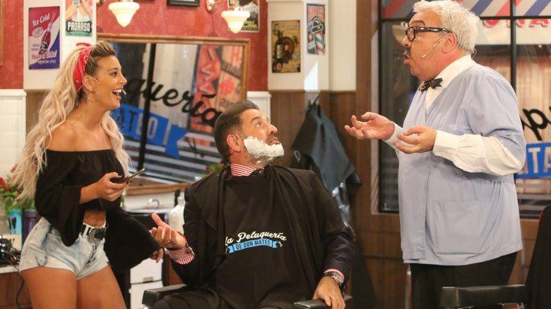 Así volvió a la tele La peluquería de Don Mateo con Coco Silly en el emblemático personaje