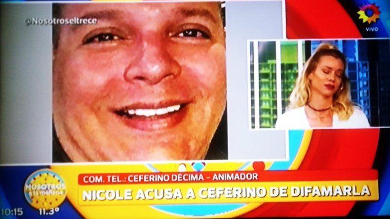 Nicole Neumann cruzó en vivo a un periodista que hablaba de la supuesta infidelidad a Valeria Lynch: No te creo nada, querés hacerte famoso