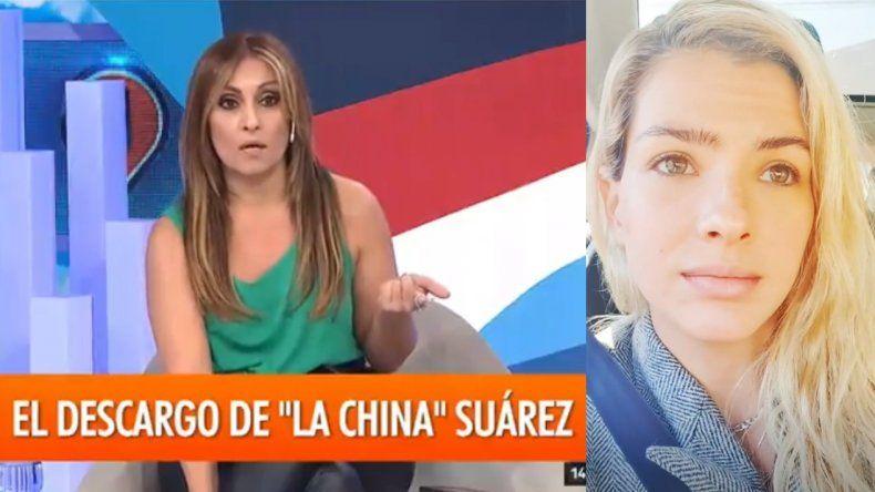 Terrible enfrentamiento entre la China Suárez y Marcela Tauro: Fijate en tu entorno, te noté muy nerviosa