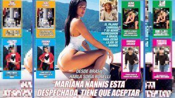 ¡Crece el escándalo! Habló la novia de Caniggia: Mariana Nannis está despechada