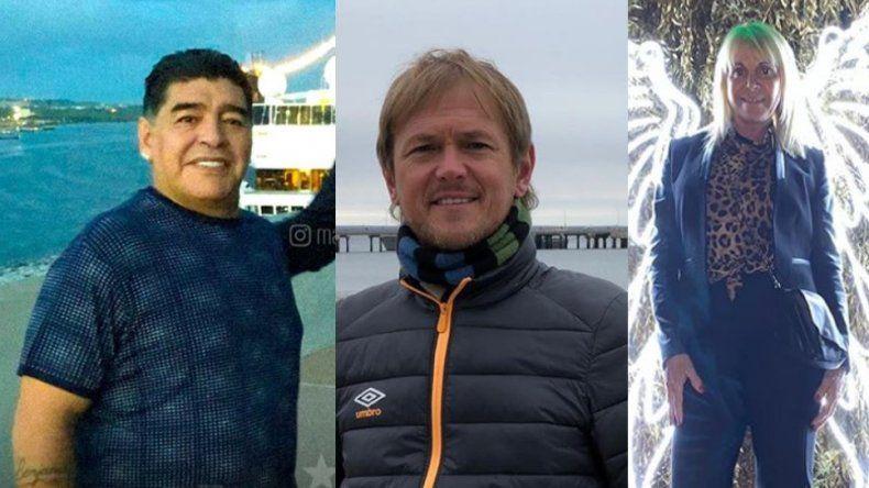 Duro mensaje de Jorge Taiana, el novio de Claudia Villafañe, a Diego Maradona: El circo no se va, me gustan los payasos