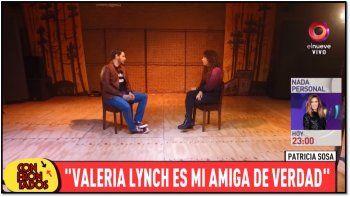 Patricia Sosa reveló detalles de su pelea y reconciliación con Valeria Lynch