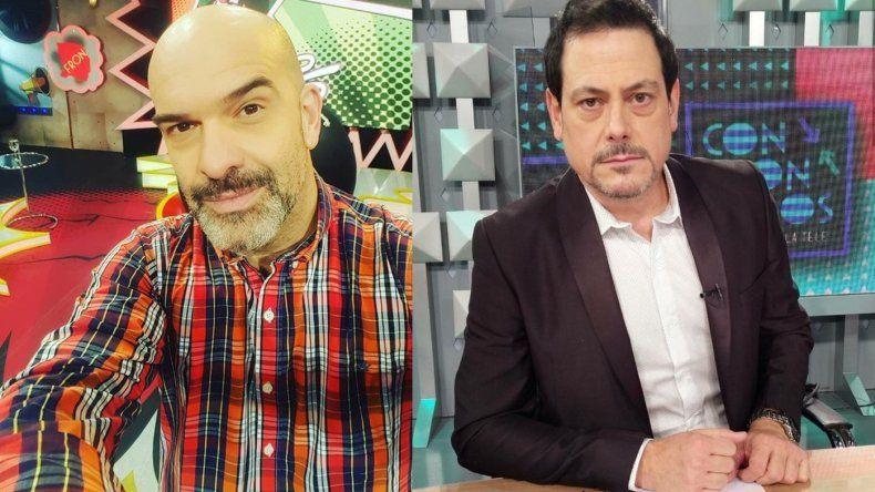 Fuerte cruce entre Nacho Goano y Guillermo Pardini por los nominados a los Martín Fierro