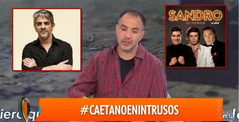 Caetano se refirió al despido de Echarri de la serie de Sandro: Fue una decisión muy artera, fue un bajón