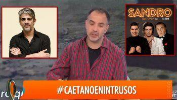 Caetano se refirió al despido de Echarri de la serie de Sandro: Fue una decisión muy artera