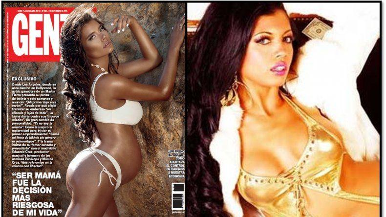 Eva de Dominici despertó burlas por salir tan bronceada en una revista: dicen que parece Paola Miranda