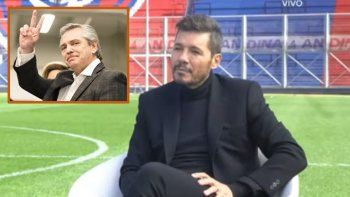 Marcelo Tinelli habló de política y aseguró: Alberto Fernández está tres pasos adelante