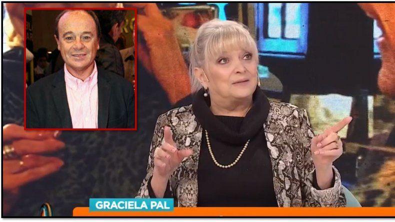 Romance vintage; Graciela Pal confesó que fue novia de Codevilla: Salimos 3 años