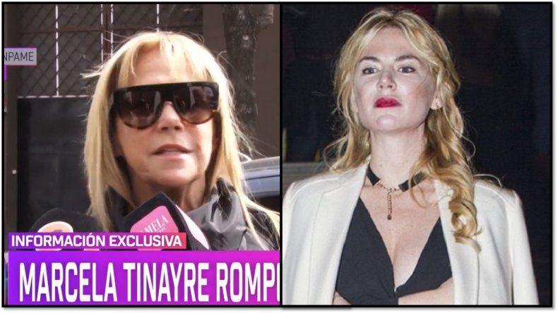 Marcela Tinayre respondió a las críticas de Esmeralda Mitre: Ella tiene problemas, que baje los decibeles