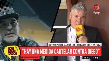 Burlando contra Maradona: Si yo fuera Claudia