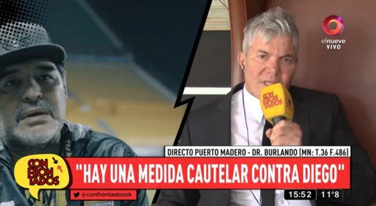 Burlando contra Maradona: Si yo fuera Claudia, tiraría las camisetas de Diego; Gimnasia tiene el técnico que se merece