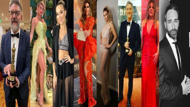 Los looks de los Martín Fierro de cable: los mejores y los peores vestidos
