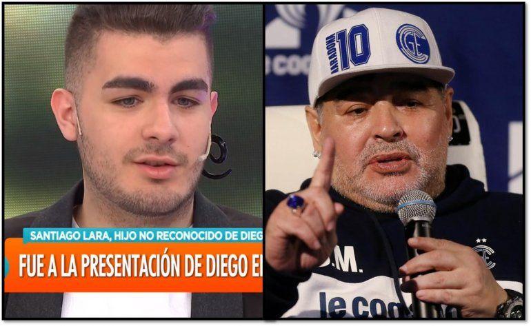 La historia de Santiago Lara, el joven de La Plata que asegura ser hijo de Diego Maradona