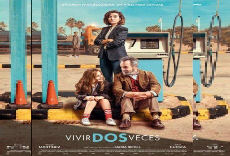 Vivir dos veces, la nueva película éxito de Oscar Martínez en España