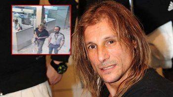 Claudio Caniggia se presentó en el hospital Rivadavia para realizarse los análisis