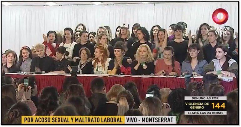 Actrices Argentinas acompaña otra denuncia por acoso sexual y maltrato contra un funcionario del teatro San Martín