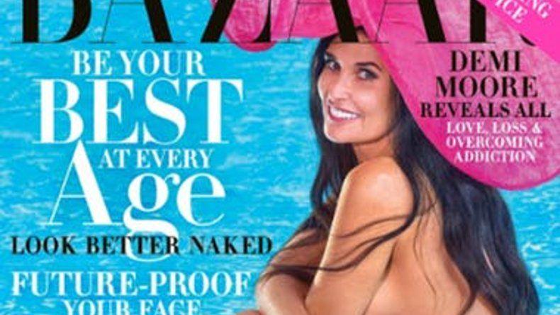 Famosa actriz internacional posó completamente desnuda a los 56 años