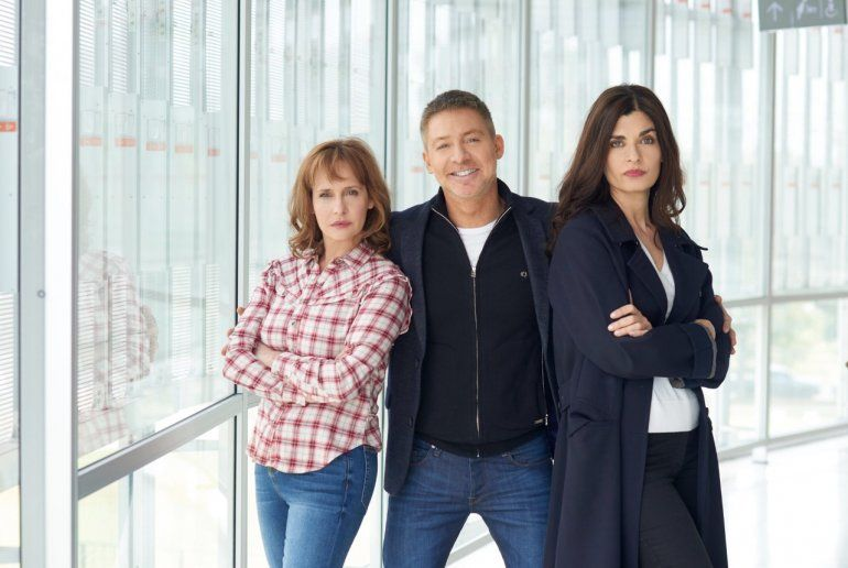 Comenzó el rodaje de Corazón Loco, la nueva comedia de Suar, junto a Villamil y Toscano