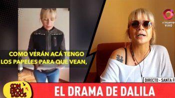 El drama de Dalila: la cantante tiene serios problemas de salud y teme tener que dejar de cantar