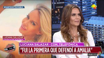 Luciana Salazar cruzó a Amalia Granata en vivo: Vos entrás en polémica