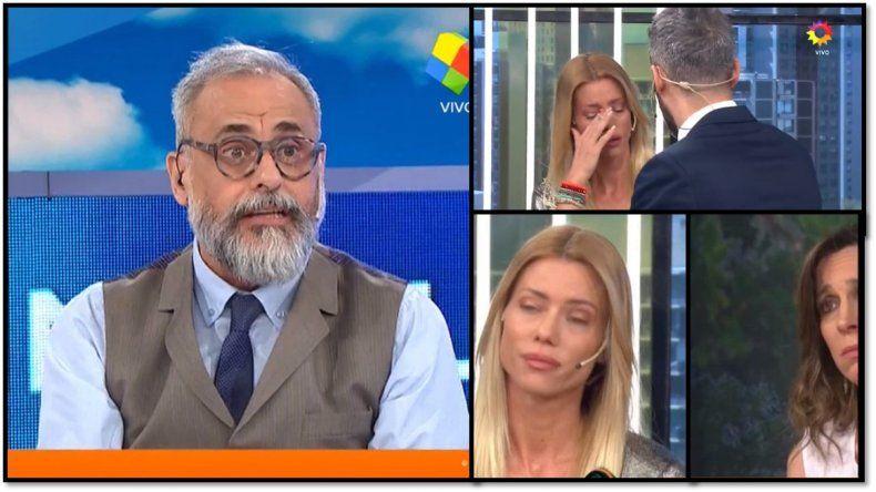 Jorge Rial contra el panel de Nosotros a la mañana: Se le ven todos los piolines, ármenlo mejor
