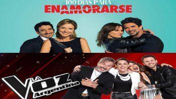 Telefe fue nominado para los Premios Emmy con 100 días para enamorarse y La Voz