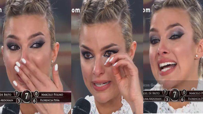 Ailén Bechara, la llorona: ni el cambio de bailarín la ayuda; Cae se fue del programa y ella sigue con malos resultados
