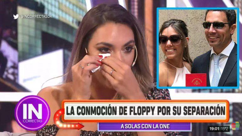 Floppy Tesouro se confesó en el living de Moria y lloró por su separación: Busco un compañero de vida
